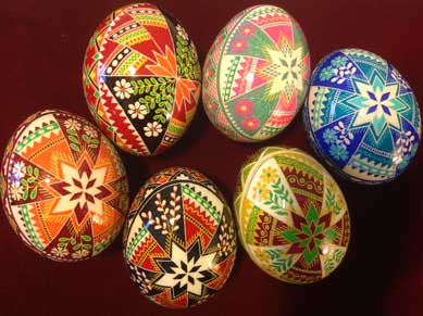 cross pysanka by the pysanky nest by pysankynest on etsy